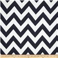Waverly Chevron Chic Jacquard Navy
