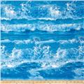 Ocean Avenue Ocean Waves Blue