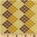 Riley Blake Indie Chic Checkers Yellow
