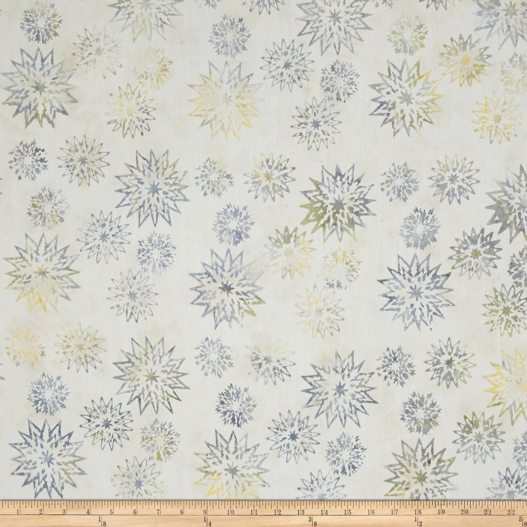 Timeless Treasures Tonga Batik Copper Snowflake Mix Ice Fabric by Timeless Treasures in USA