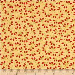 Moda Chestnut Street Cotton Puffs Daisy