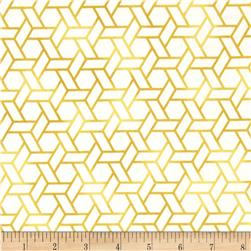Soho Hexagon Geometric Ochre