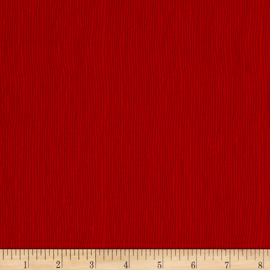 April Cornell Gypsy Dance Stripe Red Fabric by Westminster in USA