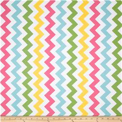 Riley Blake Chevron Medium Pink/Girl Fabric
