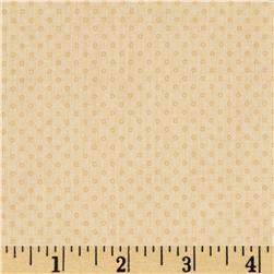 Lecien Kate Greenaway Coordinates Mini Dot Cream