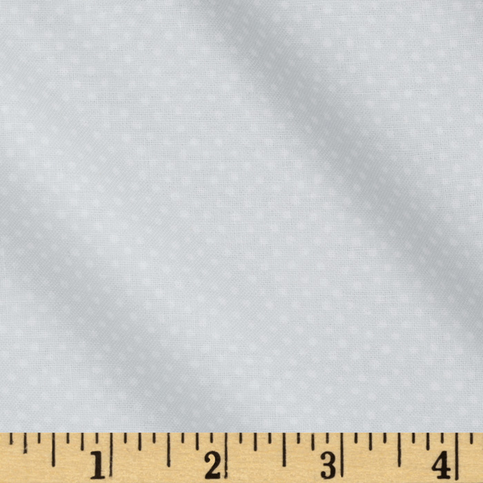 Mini Confetti Dot Grey Fabric