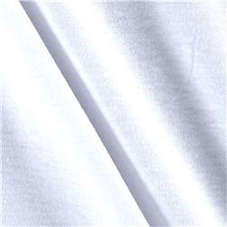 Cotton Spandex Knit Solid True White