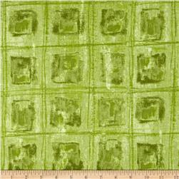 Kim's Hand Dyes 2 Blocks Green