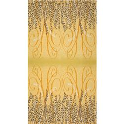 Enchantment Metallics Border Yellow Fabric