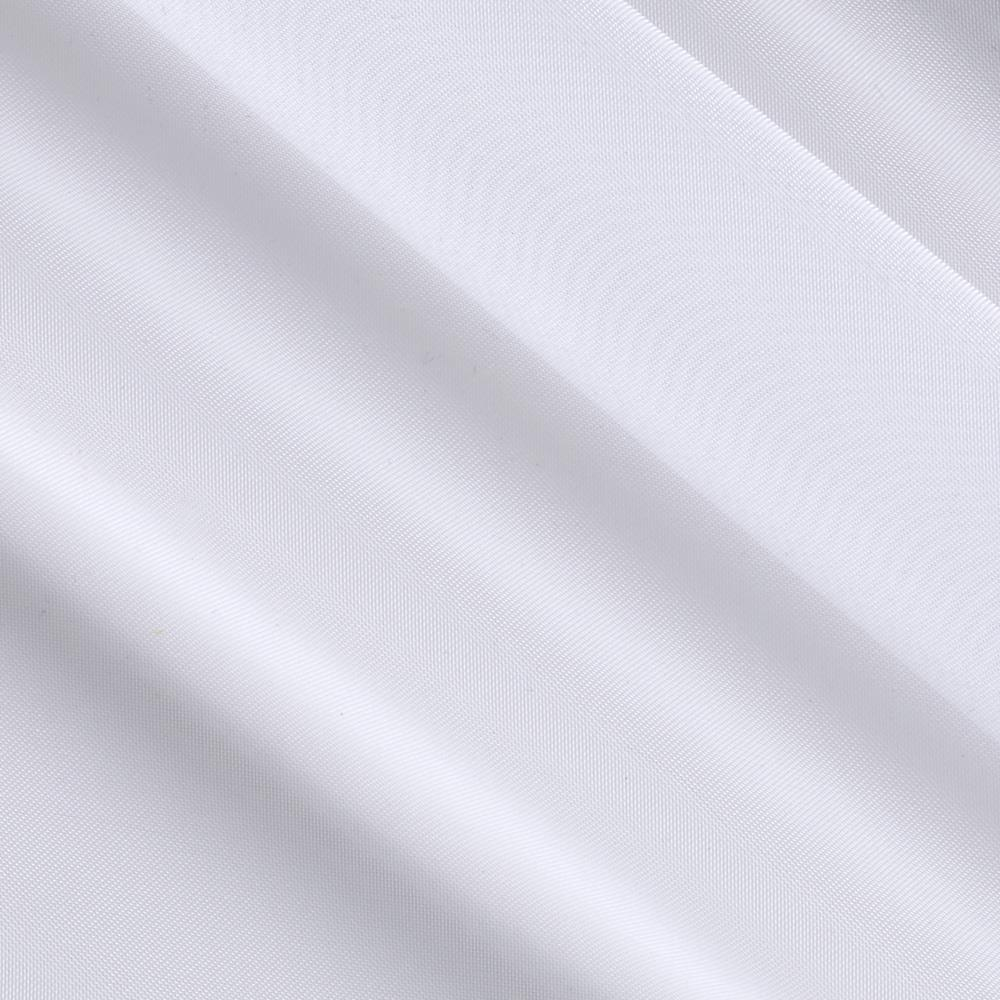 """Hanes 118"""" Wide Voile Drapery Sheers White"""