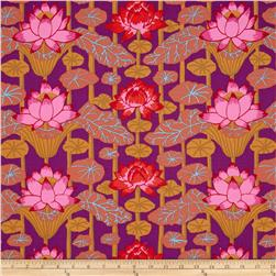 Kaffe Fassett Lotus Stripe Red