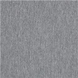Heathered Polyester Shirting Silver