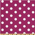 Spot On Polka Dots Fuchsia
