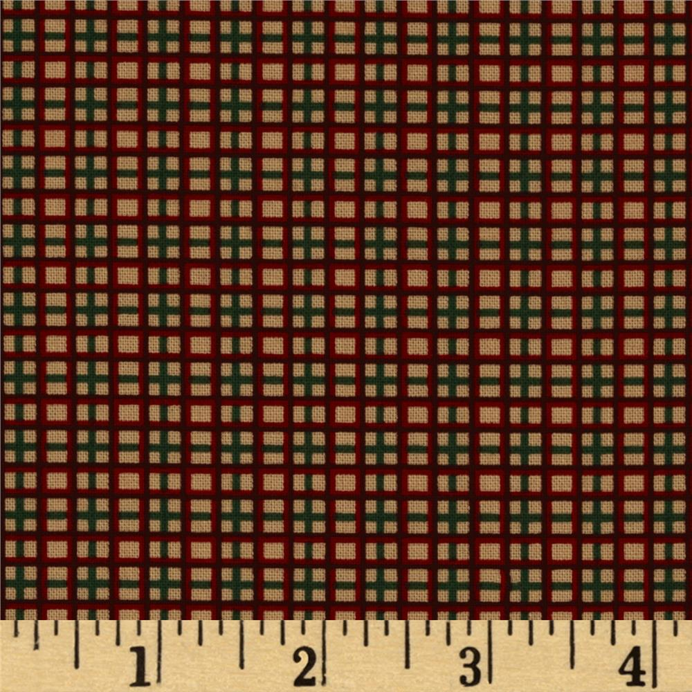 Spirit of Christmas Small Plaid Red/Green