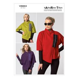 Vogue Misses' Jacket Pattern V8863 Size B50