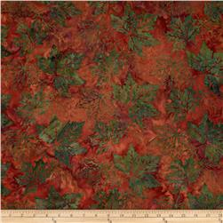 Bali Batiks Maple Leaves Autumn