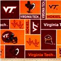 Collegiate Fleece Virginia Tech Maroon