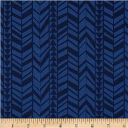 What A Gem Geo Braid Stripe Navy