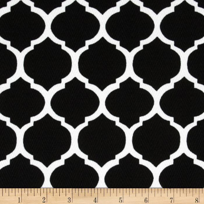 Tempo Indoor/Outdoor Fretwork Black