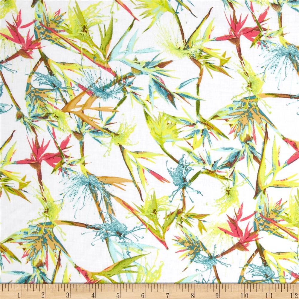 Rayon Voile Branches Multi