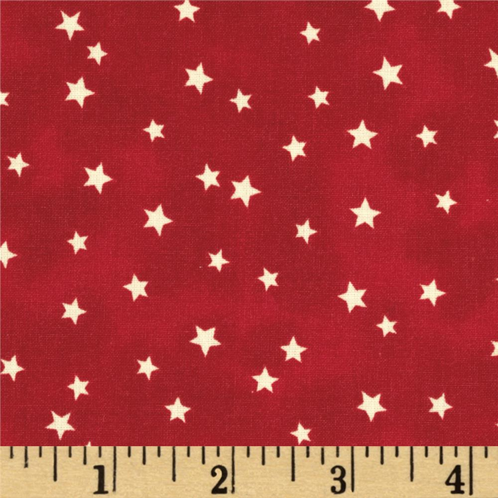 A E Nathan Stars Red