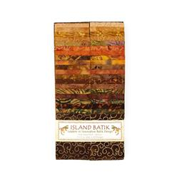 Island Batik Strip Pack Apple Cider