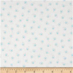 Lecien Flower Sugar Flower Dots Grey