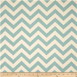Premier Prints Zig Zag Village Blue/Natural Fabric
