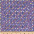 Baby Talk Hearts Periwinkle/Multi
