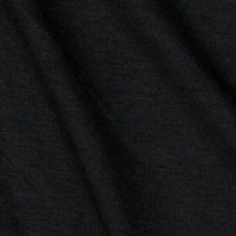 Stretch Rayon Jersey Knit Coal