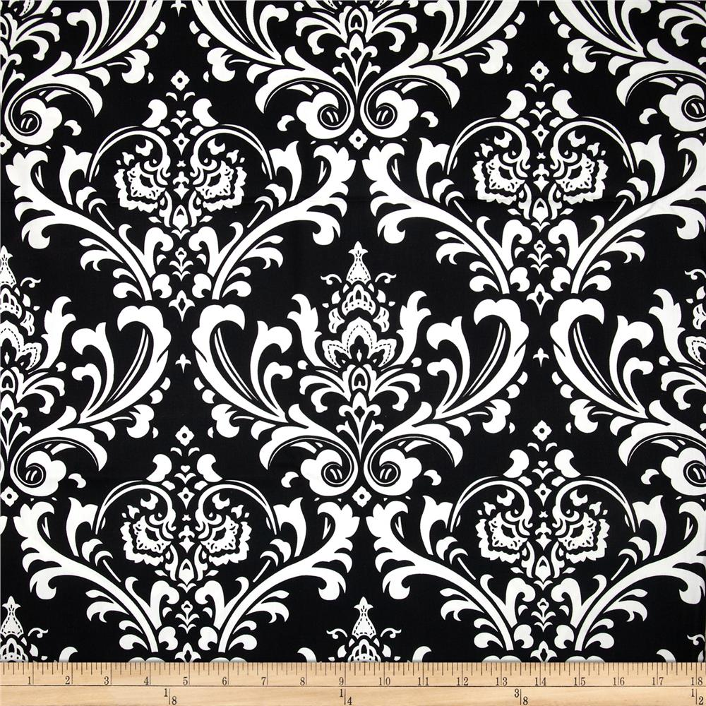 Premier Prints Ozborne Twill Black