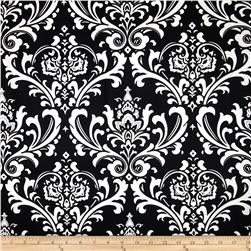 Premier Prints Ozborne Twill Black Fabric