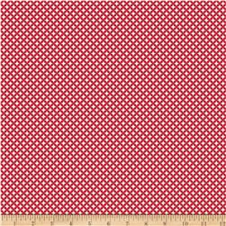 Riley Blake Raspberry Parlour Geometric Red