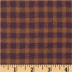 Primo Plaids V Flannel Micro Plaid Rust