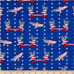 Stars & Stripes II Liberty Eagles & Stars Red/White/Blue