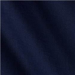 Cotton Nylon Twill Navy Fabric