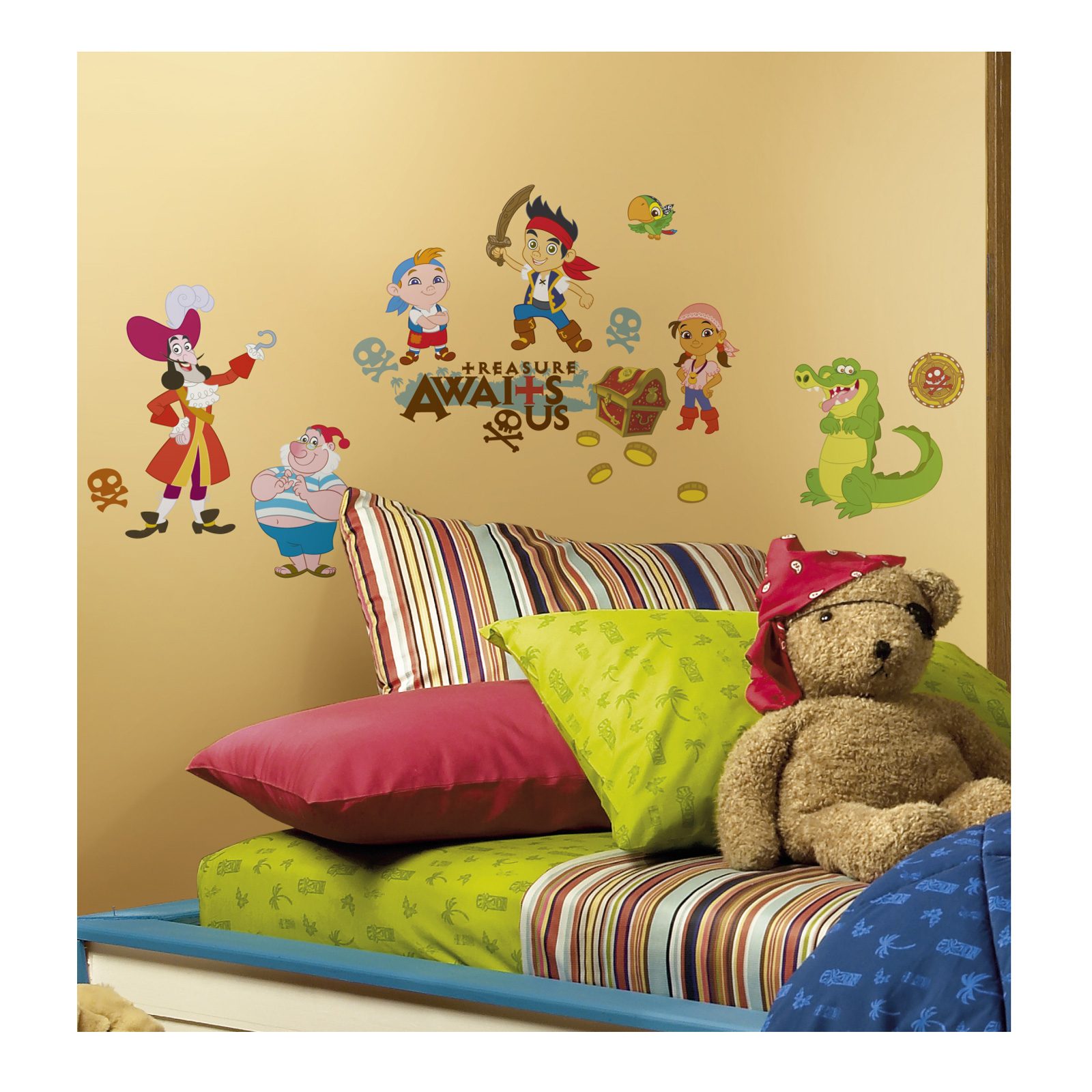 Jake & The Pirates Wall Decal by Stardom Specialty in USA