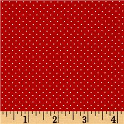 Sorbet Essentials Mini Dot Red