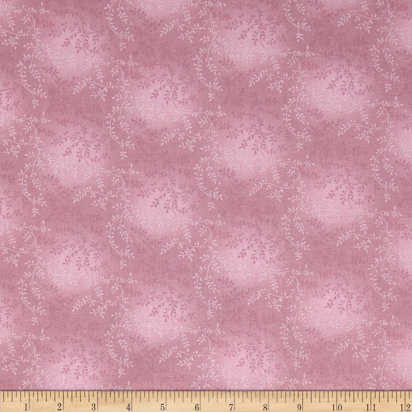 108'' Wide Quilt Back Tonal Vineyard Dusty Rose