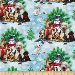 Holiday Pups Puppy Scenic Multi