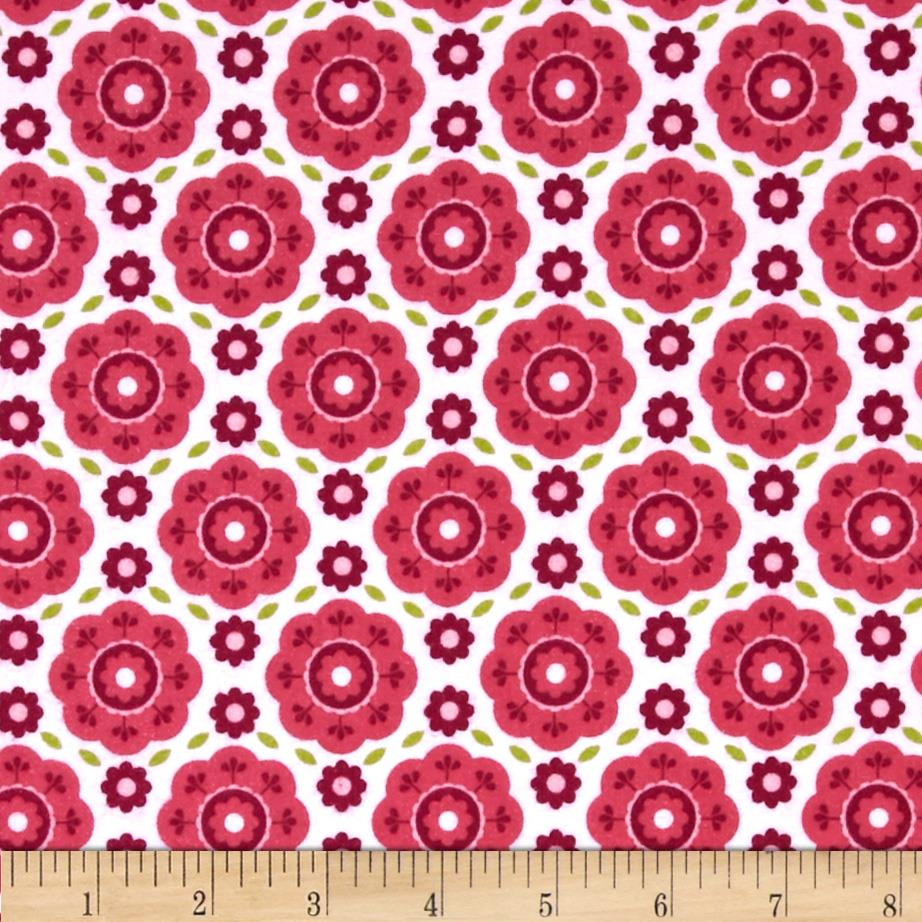 Riley Blake Summer Song 2 Flannel Floral Pink