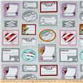 Born to Sew Quilt Labels Light Grey