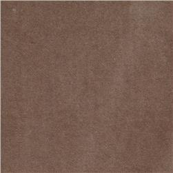 100% Cotton Anti-Crush Velvet Taupe