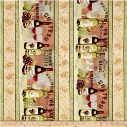 From The Chateau Repeating Stripe Multi