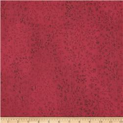 110 In. Wide Quilt Back Woodland Dark Red