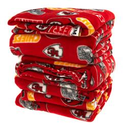Three Pound NFL Fleece Kansas City Chiefs Remnant