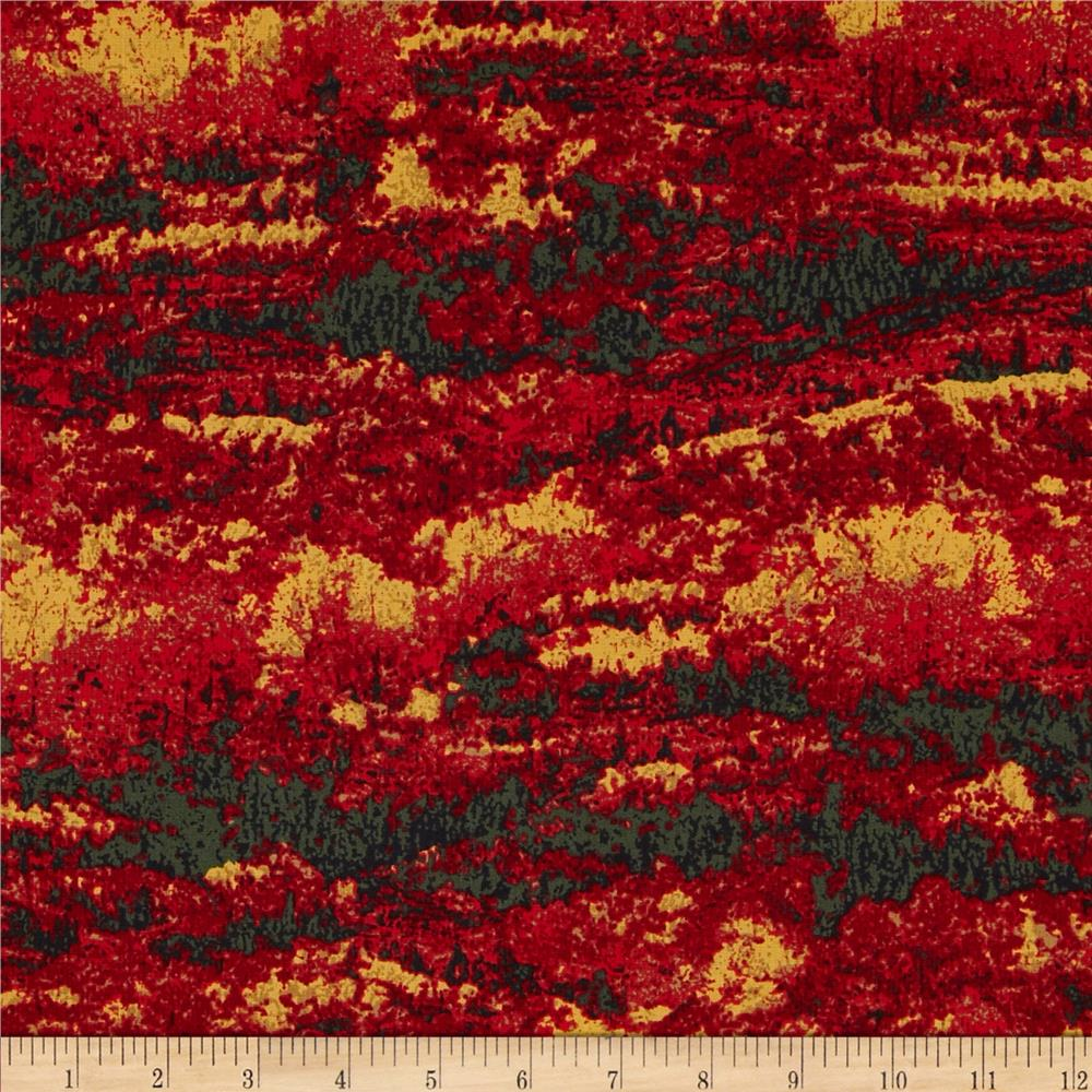 Landscape Forest Multi/Red