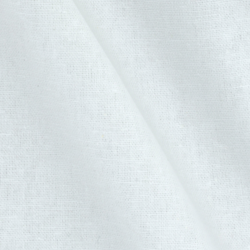 60'' Cotton Drapery Lining White Fabric