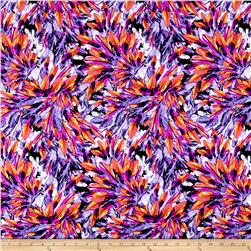 Swimwear Feathers Orange/Purple