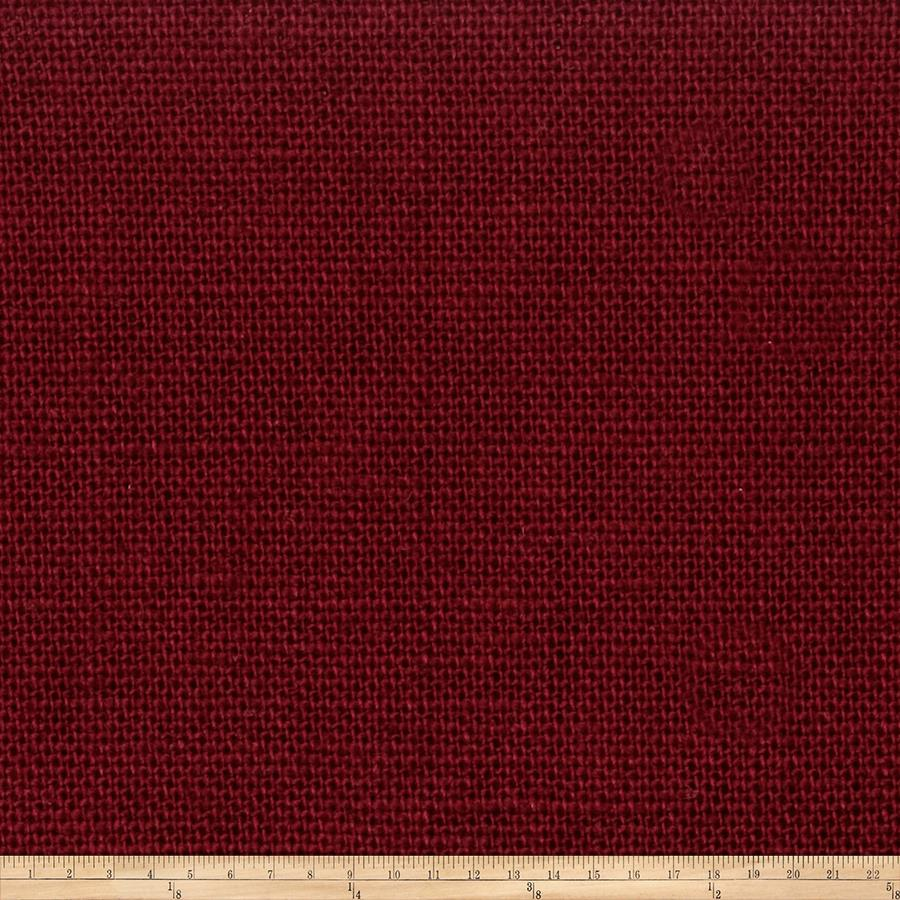 Jaclyn Smith 1838 Linen Blend Garnet